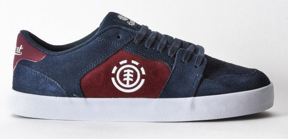 Element shoes Heatley Navy Napa